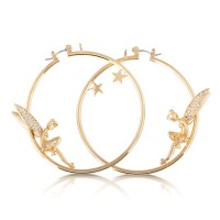 Disney Official Gold-Plated Tinkerbell with Crystal Wings ...