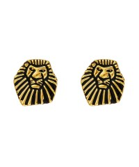 Disney Couture Lion King Gold-Plated & Black Enamel Mufasa ...