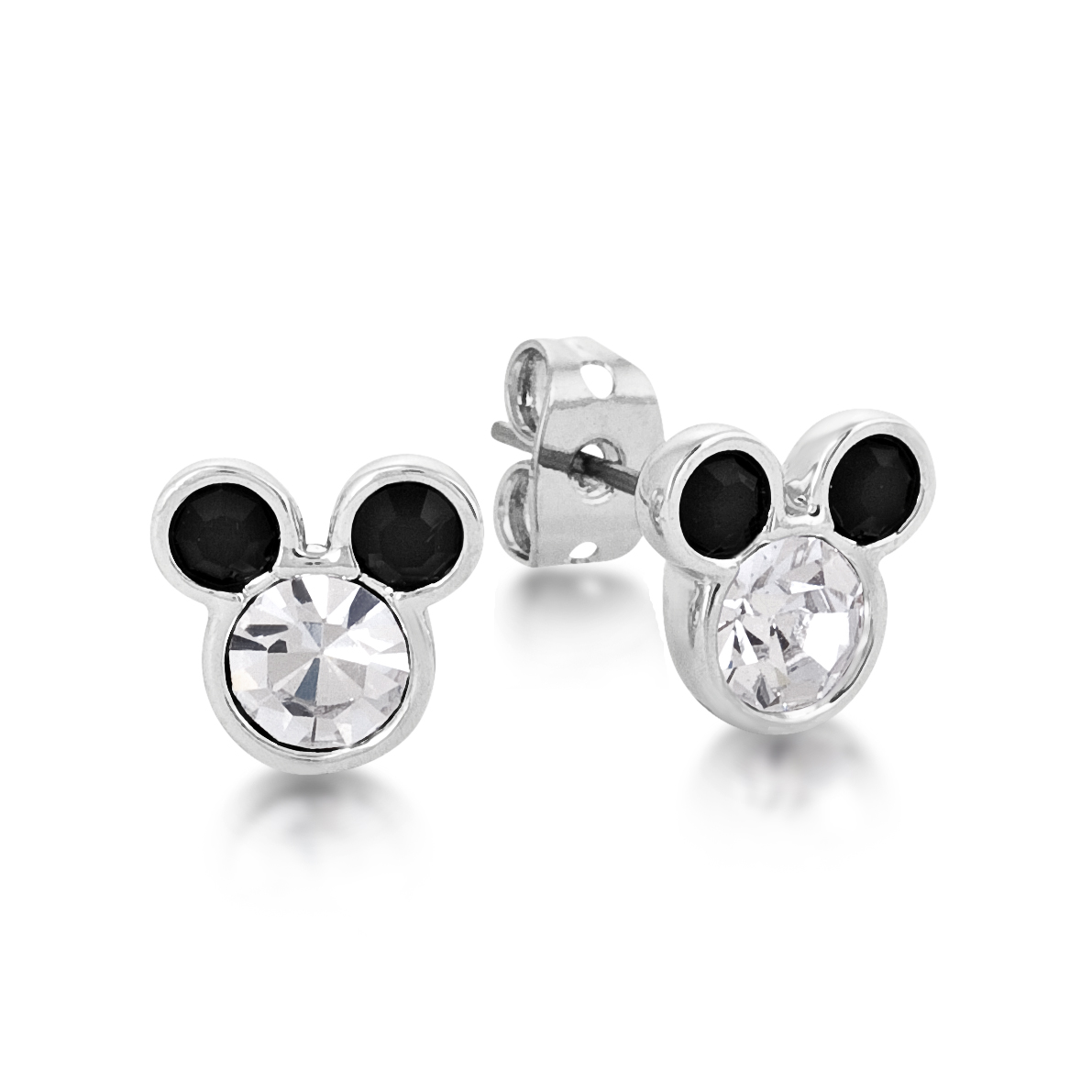 Disney Couture Minnie Mickey Mouse White Gold