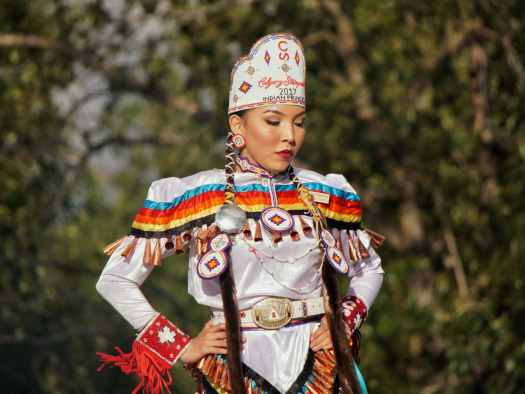 Calgary Stampede Indian Princess