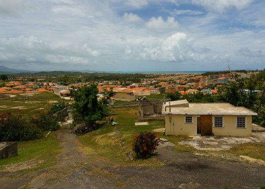 Humacao Puerto Rico while volunteering with all hands and hearts