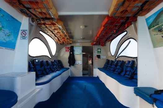 Ferry between Galapagos Islands