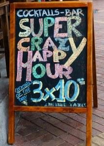 Super Crazy Happy Hour Galapagos