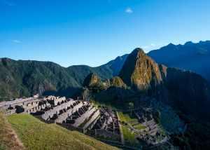 First Light at Machu Picchu