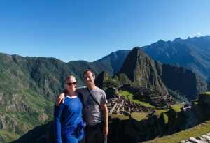 Zentravellers at Machu Picchu