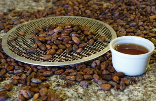 Cacao Beans at Chaqchao