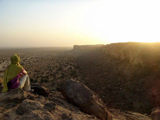 Sunset in Pays Dogon