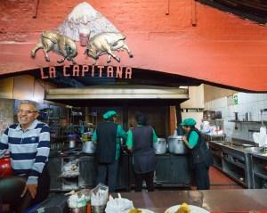 La Capitaina Picanteria in Arequipa