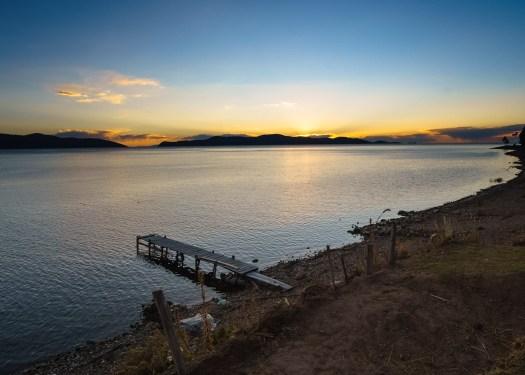 Sunset on Isla de la Luna