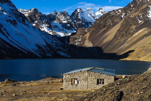Refugio in the Cordillera Real