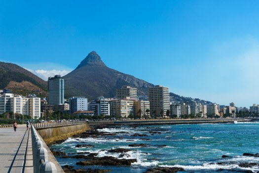 Views of the Cape Town Coastline from Seapoint