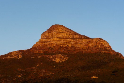 The Lions Head at Sunset
