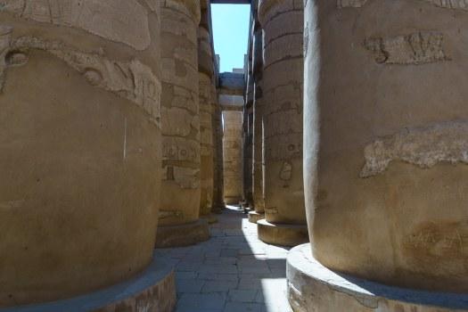 The Stunning Hypostle Hall of Pillars in Karnak Temple