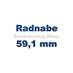Radnabe 59,1 mm