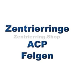 Zentrierring für ACP Felgen