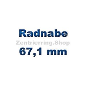 Radnabe 67,1 mm
