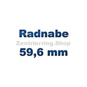 Radnabe 59,6 mm