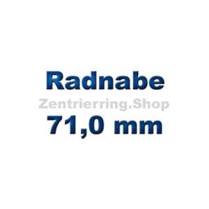 Radnabe 71,0 mm