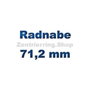 Radnabe 71,2 mm