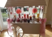 Our Lovely Candy Cart... Perfect for Sweet Couples