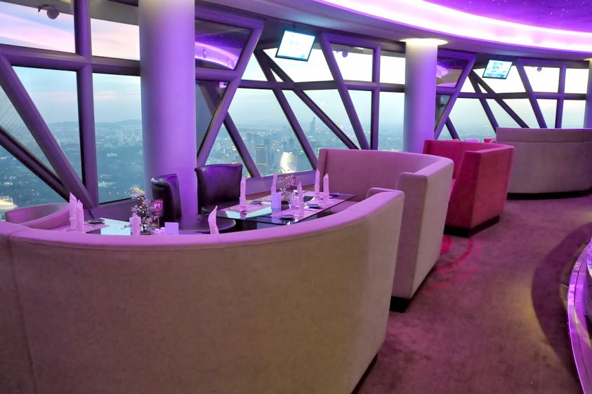 Atmosphere 360 Restaurant (Petronas Twin Towers vs KL Tower)