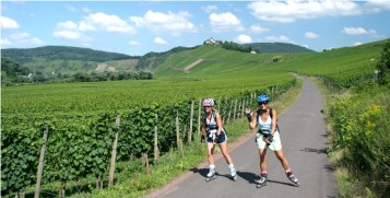 Zephyr Adventures Mosel Valley Biking and Skating Tour