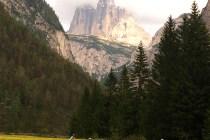 Dolomites Biking Underneath Tre Crime