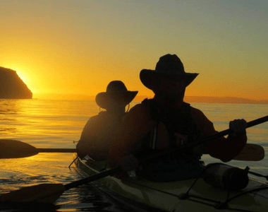 Baja Kayaking Tour Review Sunset