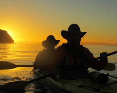 Baja Kayaking Tour Review Sunset