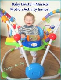 Baby Einstein Jumper: Fun for Active, Busy Babies