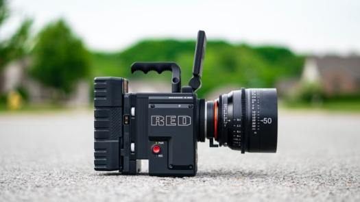 chiedi un video - videocamera red