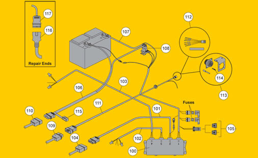 7 Way Wiring Diagram Cargo Fisher Snow Plow Ez V Electrical