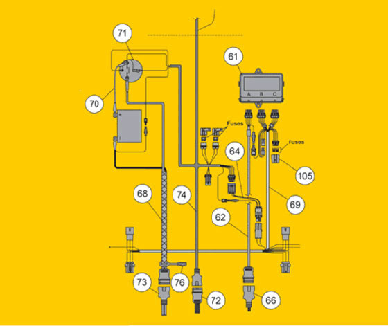relay 4 pin wiring diagram ge electric stove fisher snow plow ez-v electrical