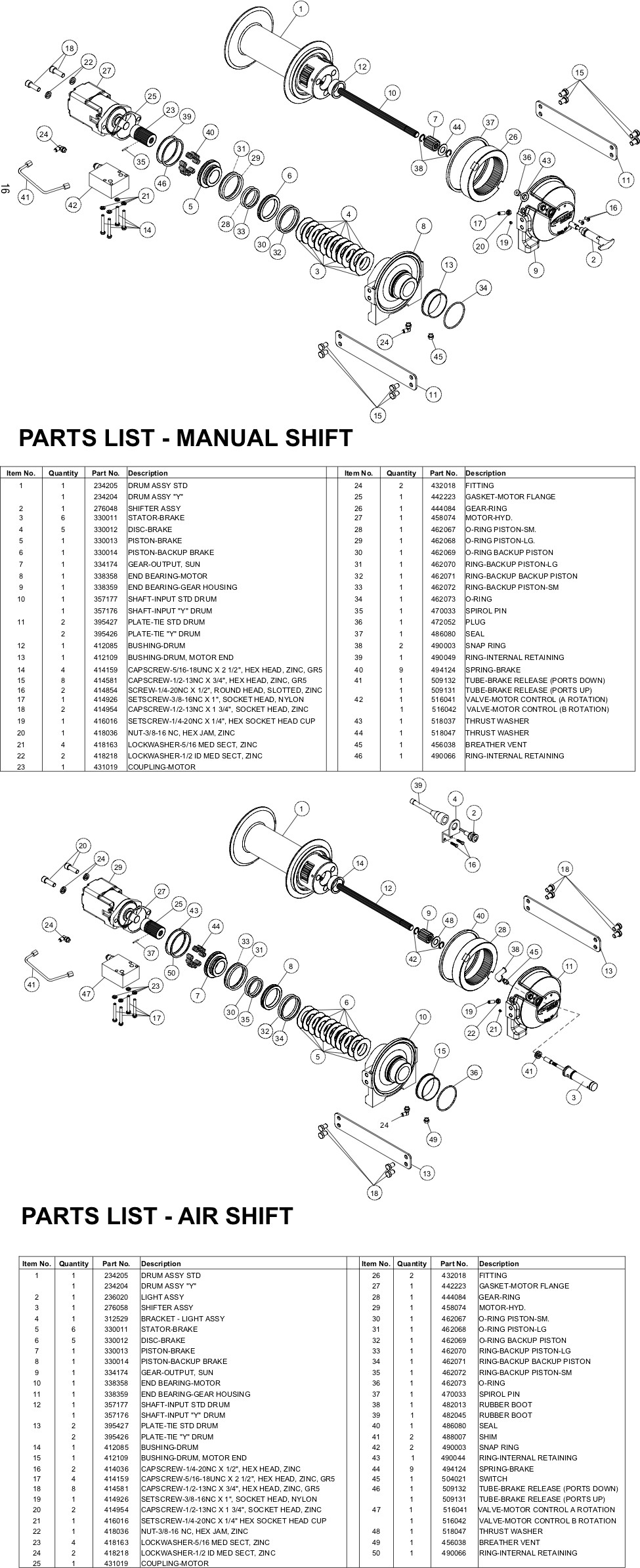 Ramsey Winch HDP 8,000 Parts