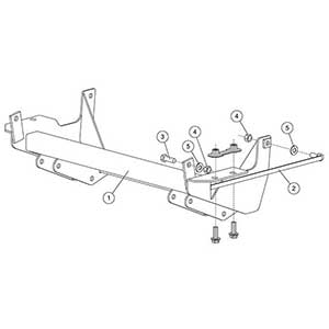 FISHER SNOW PLOW MOUNT KIT 1233