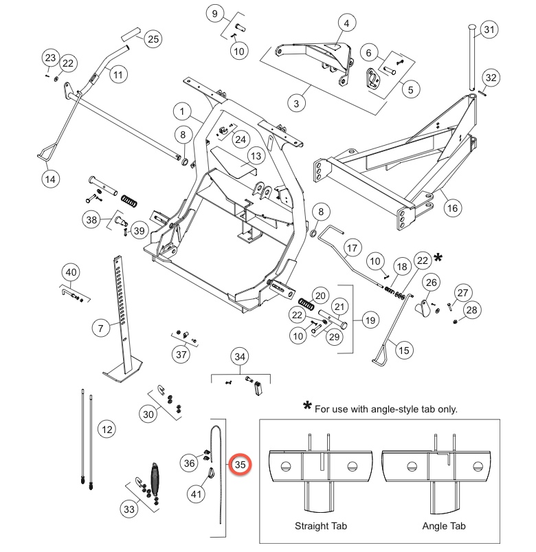 27169K FISHER SNOW PLOW CABLE KIT