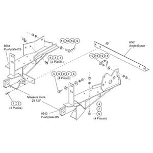 FISHER MOUNT KIT MM FORD F150/BRONCO