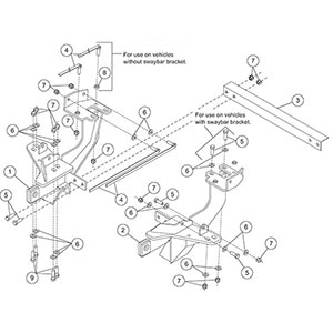 7173 MOUNT KIT MM FORD F250SD-550SD 2004 LATE