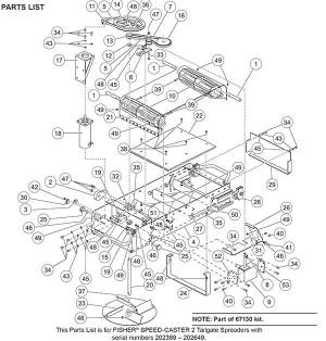 Fisher SpeedCaster 2 Drive Parts
