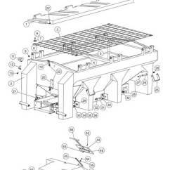 Western 1000 Salt Spreader Wiring Diagram 65 Mustang Dash Fisher Poly-caster (1) Hopper Parts