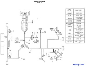 7552000042 JERRDAN HARNESS WIRING  MAIN DECK 60