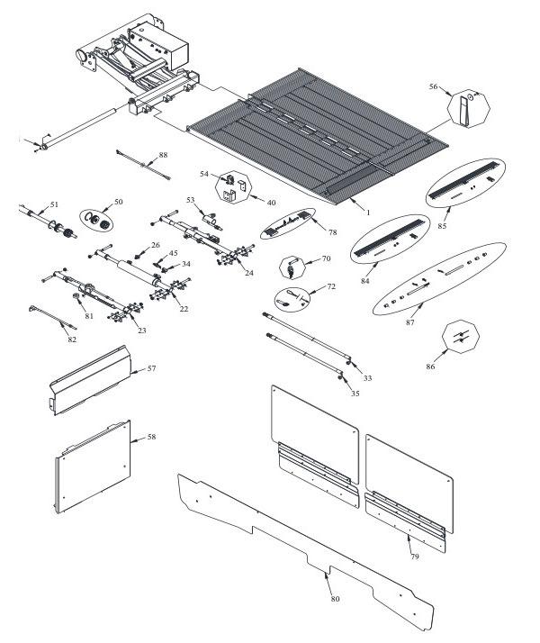1330 Cantilever Parts