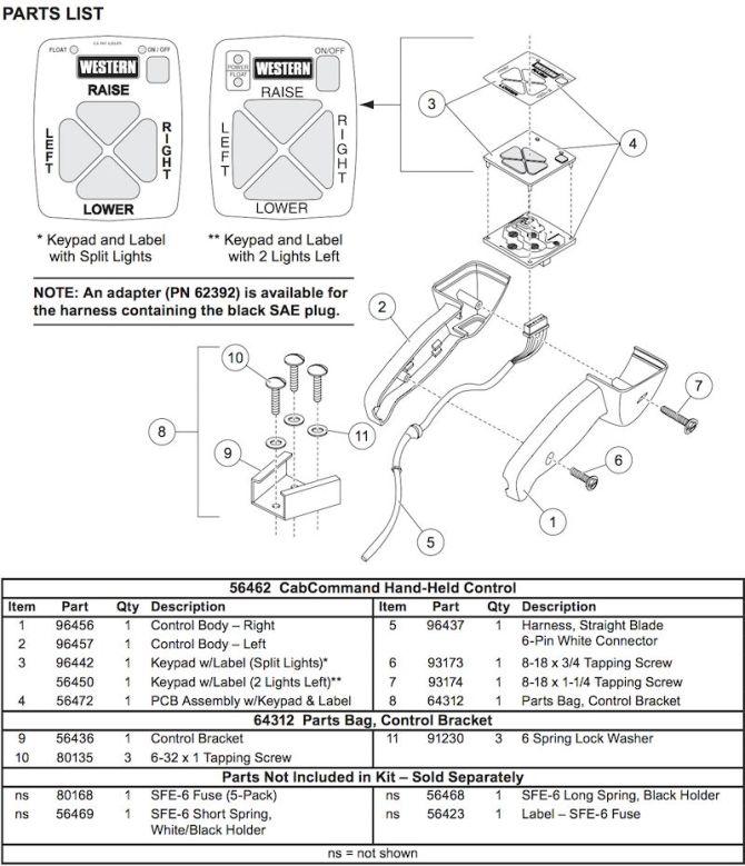 schema western snow plow controller wiring diagram hd