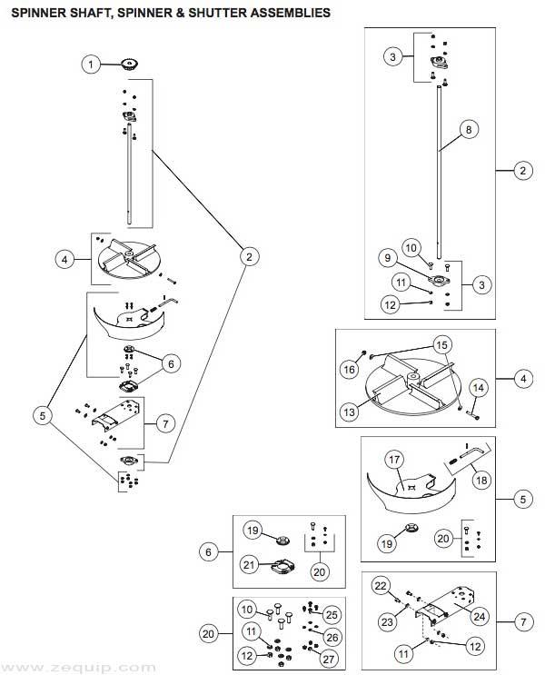 Western Striker Gas Engine Spinner & Shutter Serial
