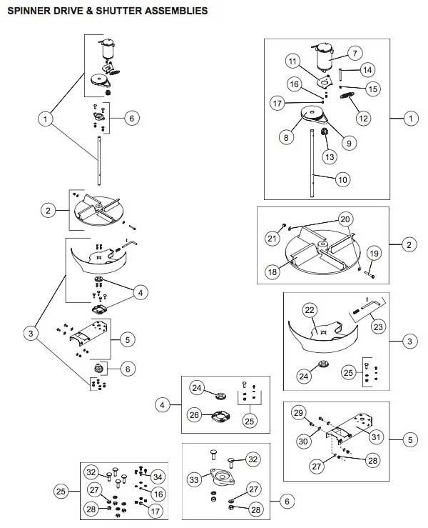 Western Striker Electric Motors Spinner & Shutter Serial