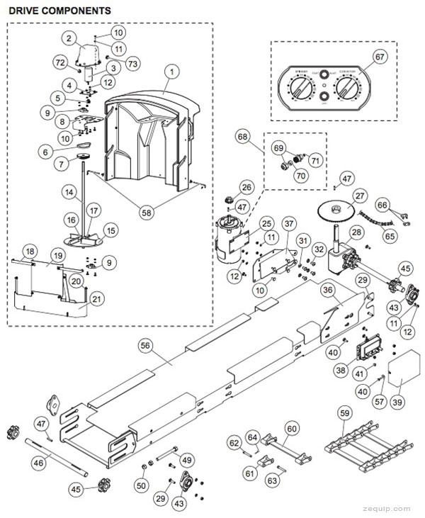 Western Tornado Drive Parts Serial #0905-Higher