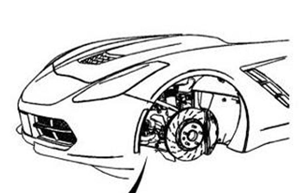 2014 Chevrolet Corvette C7 Front End Design Leaked Photo 1