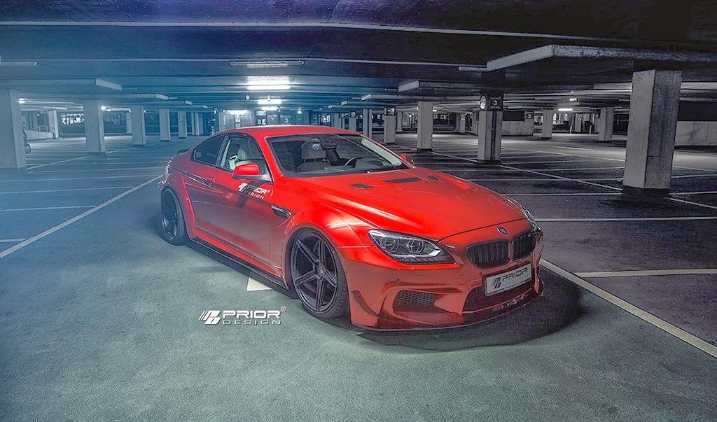 Widebody Cars Wallpaper Prior Design Widebody Kit For Bmw 6 Series Is Epic