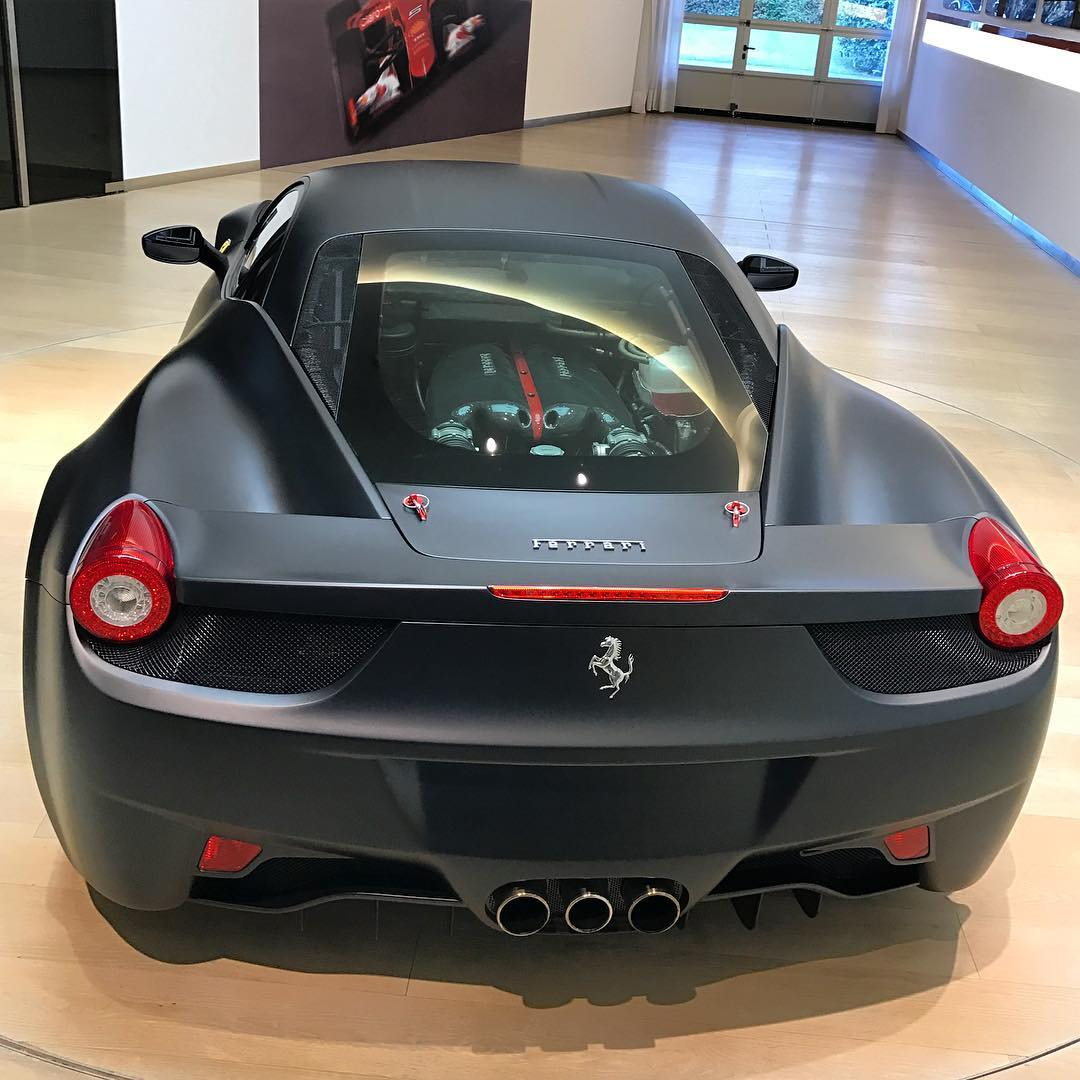 Yes This Is A Ferrari 458 Italia Fitted With Laferrari V12