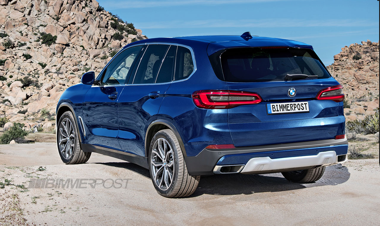 New BMW X5 G05 Previewed In Neat Renderings